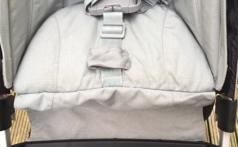 Joolz Pushchair seat after mould treatment & steam clean