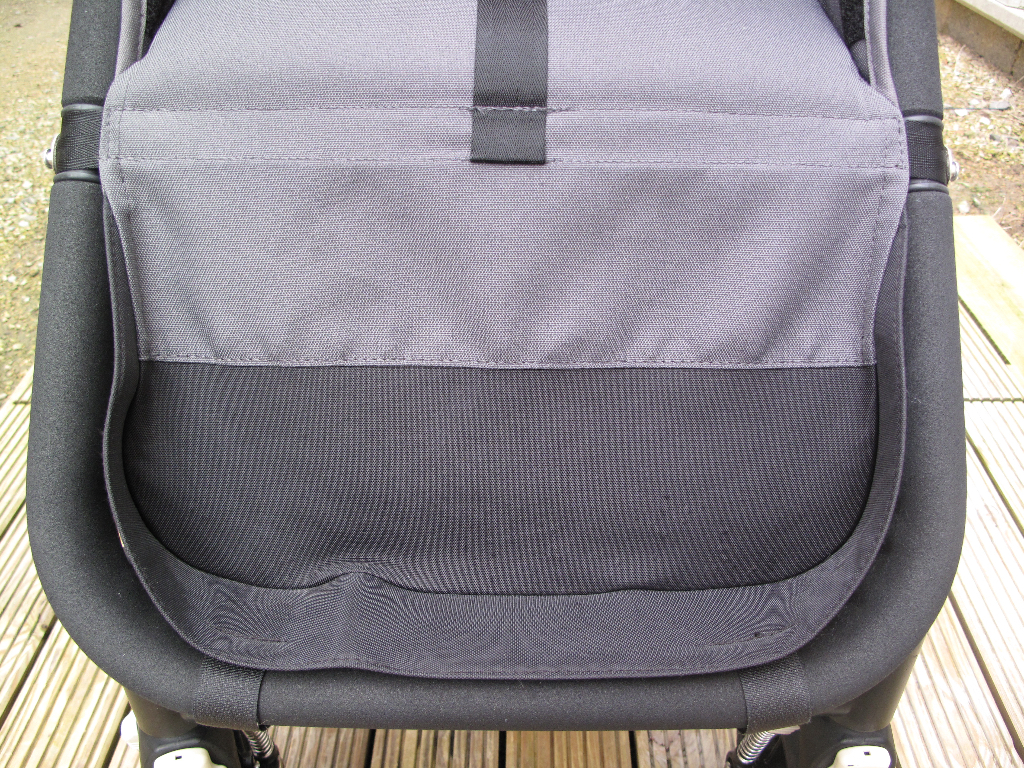 Bugaboo Cameleon After (steam cleaned & safe mould treatment)