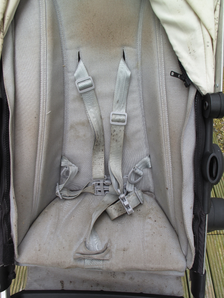 Mouldy Joolz Day Pushchair before professional clean